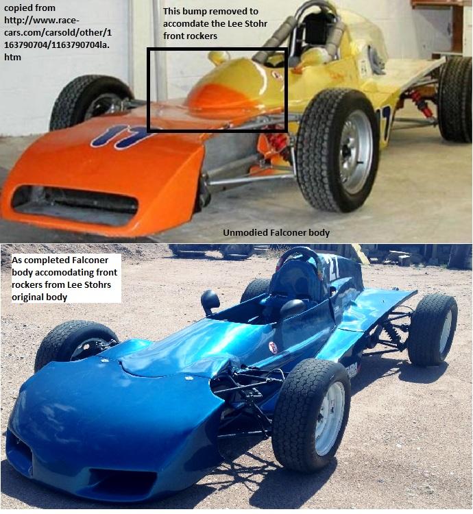 Falconer original vs as now