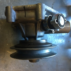 400A pulley on Subaru hub
