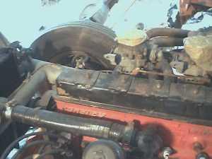 Crosley engine Label