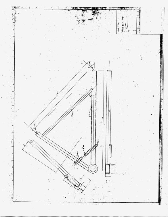 Elden FF front Suspension A Arm drawing