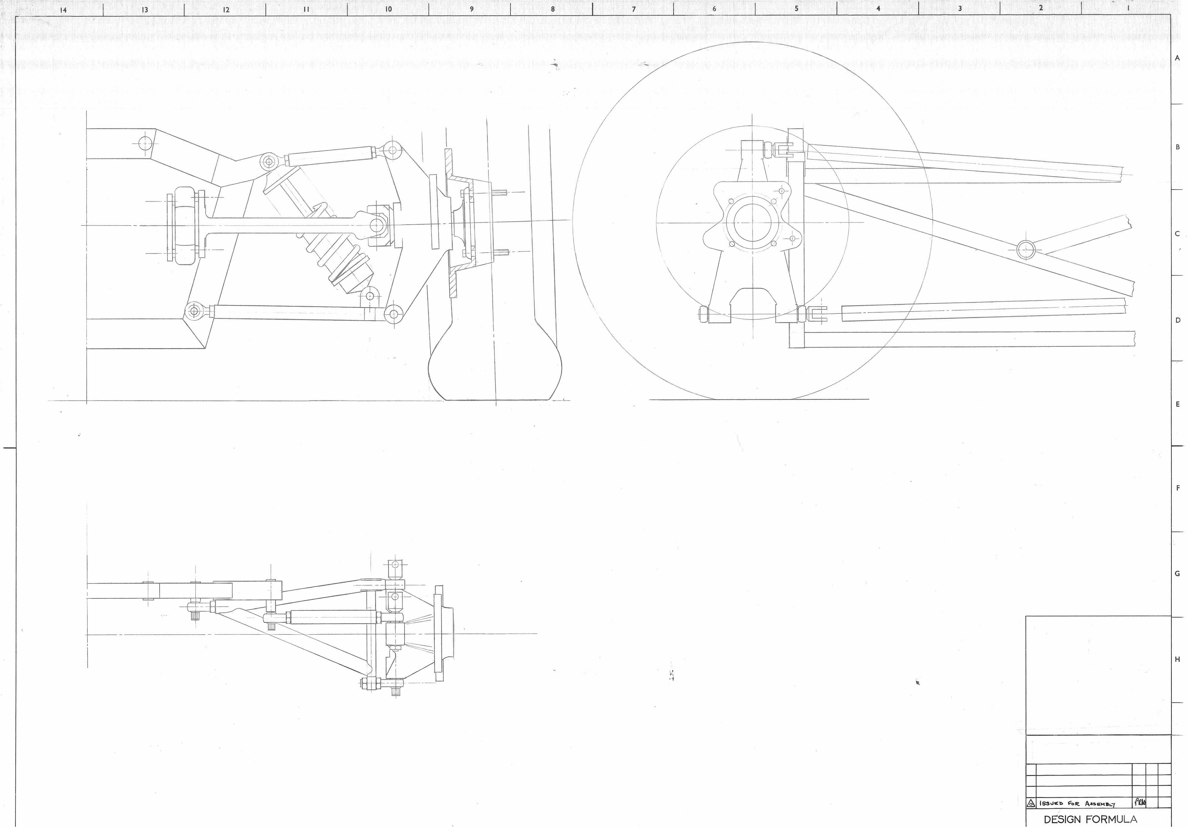 Elden MK 7 8 9 10 11 Rear bulkhead